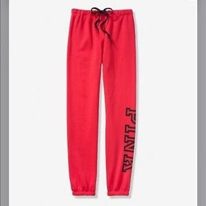 (PINK) red-joggers